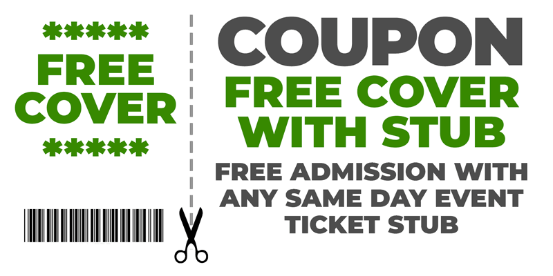 Coupon: Free Admission with Ticket Stub